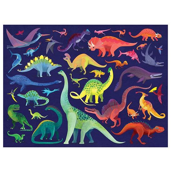 Crocodile Creek Crocodile Creek puzzel Dino World 500 stukjes