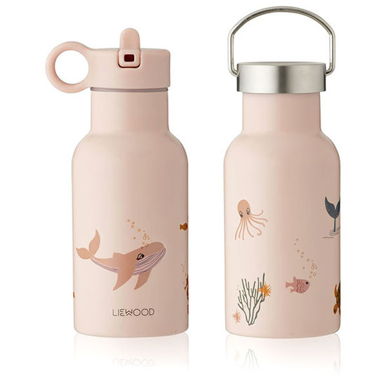 Liewood Liewood Anker thermo drinkfles Sea Creature rose