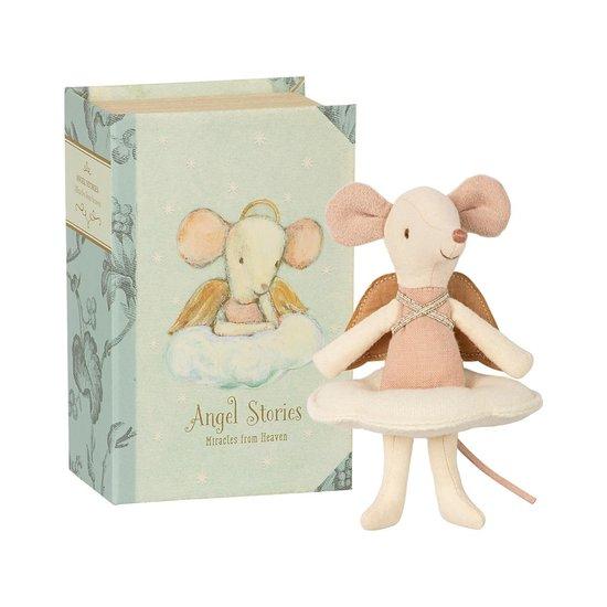 Maileg Maileg Engel grote zus muis in boek