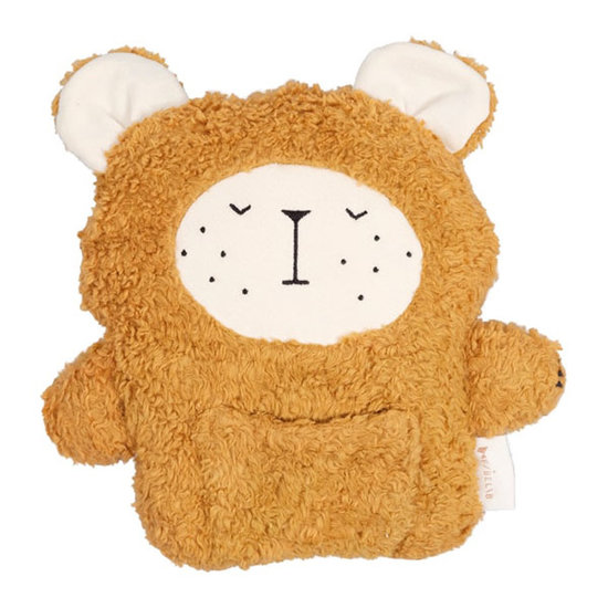 Fabelab Fabelab Fabbies Bear ochre knuffel