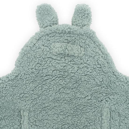 Jollein Jollein wikkeldeken Bunny Ash green