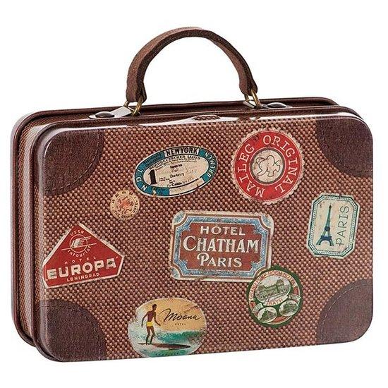 Maileg Maileg metalen koffer Brown travel
