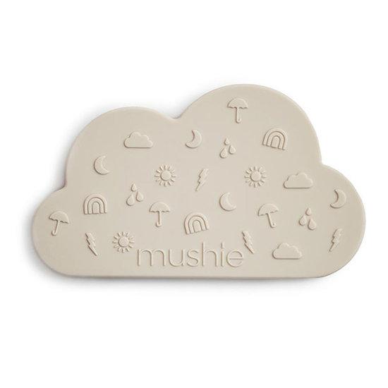 Mushie Mushie bijtring Cloud Gray