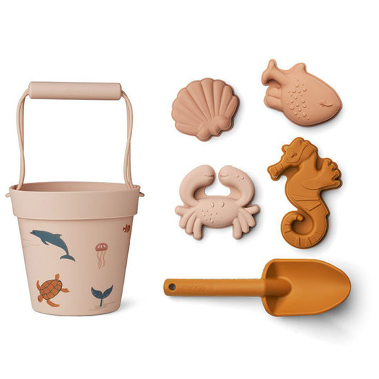 Liewood Liewood Dante strand speelgoed Sea creature rose