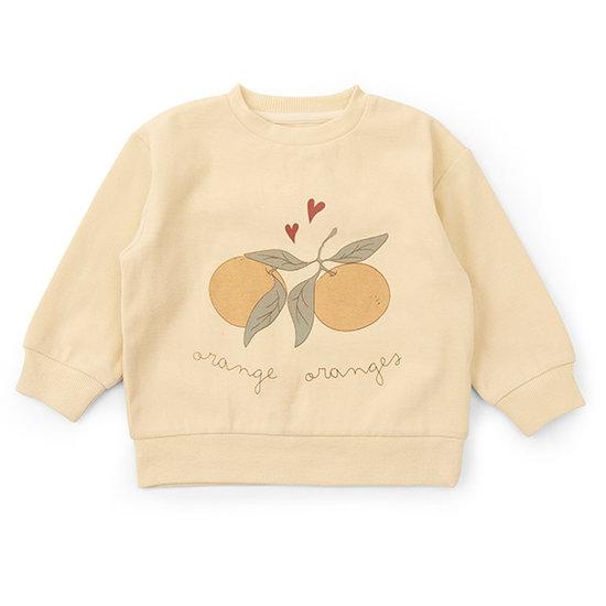 Konges Slojd Konges Slojd Lou sweatershirtr Apricot