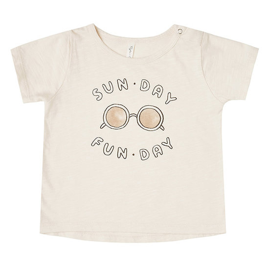 Rylee and Cru Rylee and Cru Basic t-shirt Sunday Fun Day
