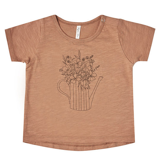 Rylee and Cru Rylee and Cru Basic t-shirt Garden Flowers