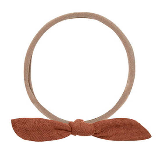 Rylee and Cru Rylee and Cru Little Knot haarband Amber