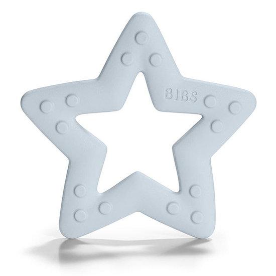 Bibs Bibs Baby Bitie Star bijtring baby blue
