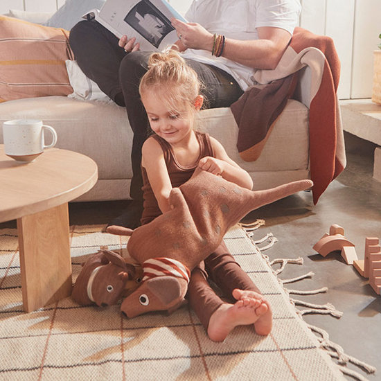 OYOY OYOY knuffel Hunsi Dog met puppies Coco & Max