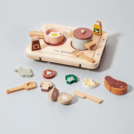 Petit Monkey Petit Monkey houten kookset