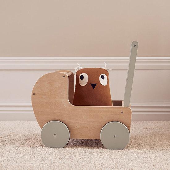 Kid's Concept Kids Concept poppenwagen natural