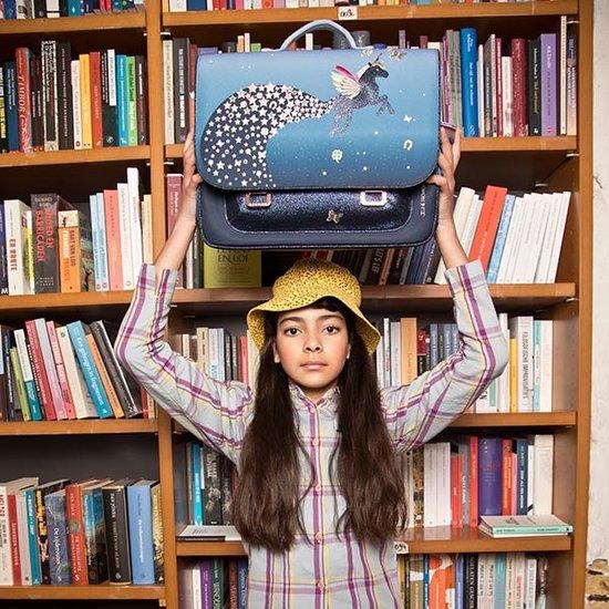 Jeune Premier boekentas Jeune Premier school bag Midi Unicorn Universe