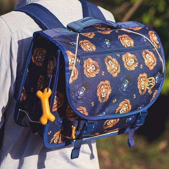 Stones and Bones Stones and Bones boekentas Cedar LIONS royal blue