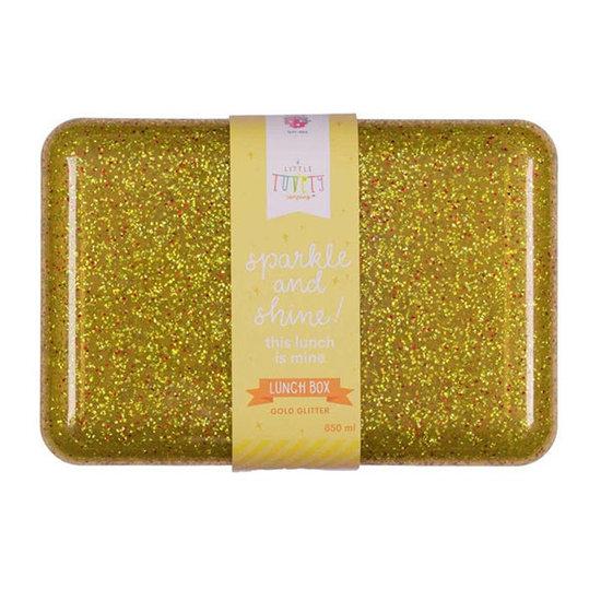 A Little Lovely Company A Little Lovely Company brooddoos Glitter goud
