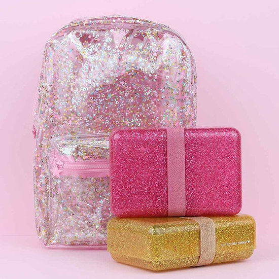 A Little Lovely Company A Little Lovely Company brooddoos Glitter roze