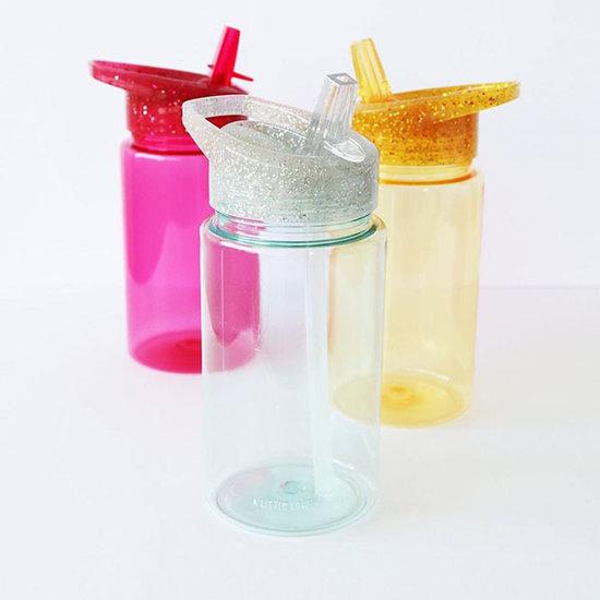 A Little Lovely Company A Little Lovely Company drinkfles Glitter zilver