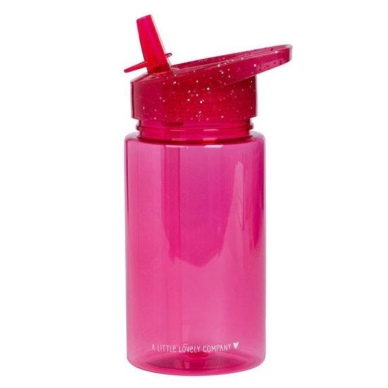 A Little Lovely Company A Little Lovely Company drinkfles Glitter roze