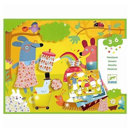 Djeco Djeco mozaïek Collage mousses