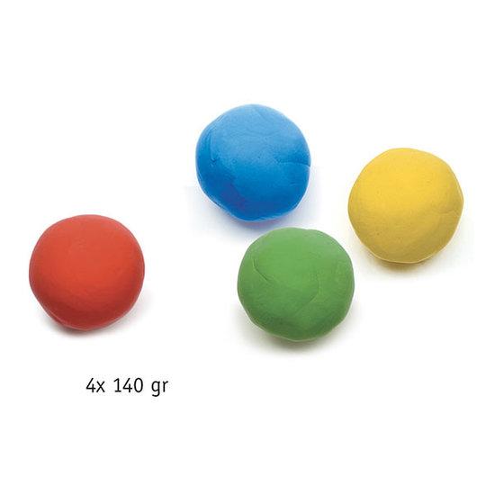 Djeco Djeco boetseerklei 4 potjes klassieke kleuren