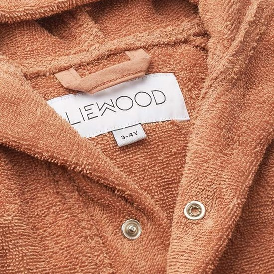 Liewood Badjas Mr Bear tuscany rose - Liewood