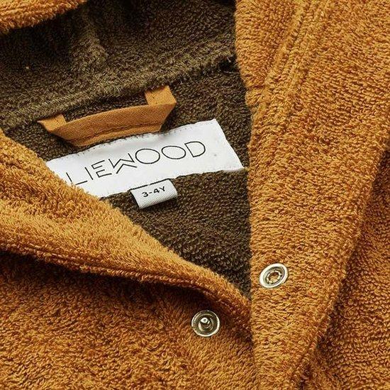 Liewood Badjas Mr Bear golden caramel - Liewood