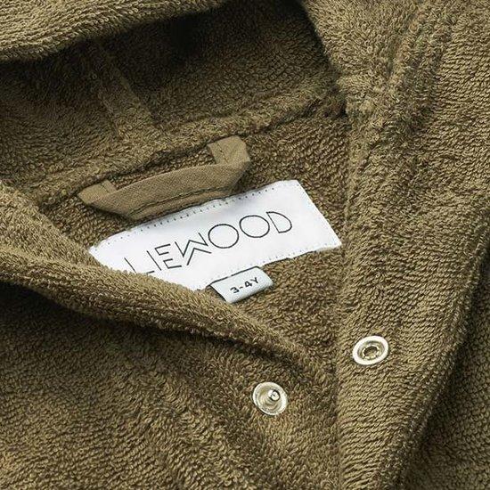 Liewood Badjas Mr Bear khaki - Liewood