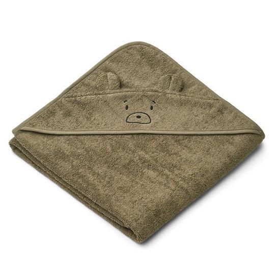 Liewood Badcape Augusta Mr Bear khaki 100cm - Liewood
