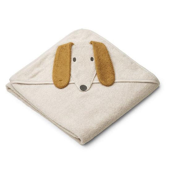 Liewood Badcape Augusta Dog sandy 100cm - Liewood