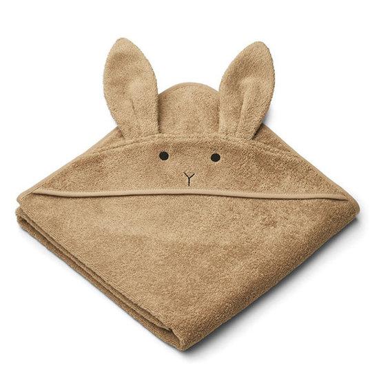 Liewood Badcape Augusta Rabbit oat 100cm - Liewood