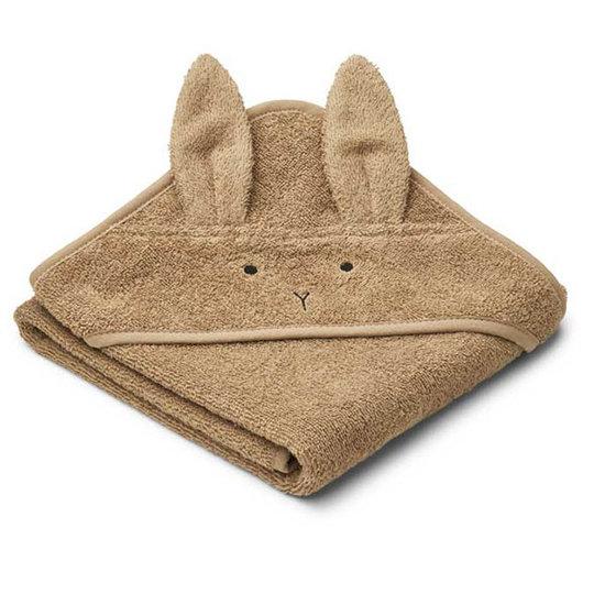 Liewood Badcape Albert Rabbit oat 70cm - Liewood