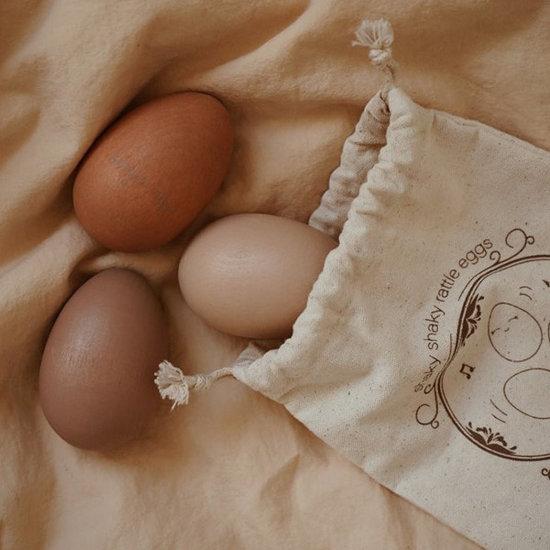 Konges Slojd Konges Slojd rattle eggs Rose