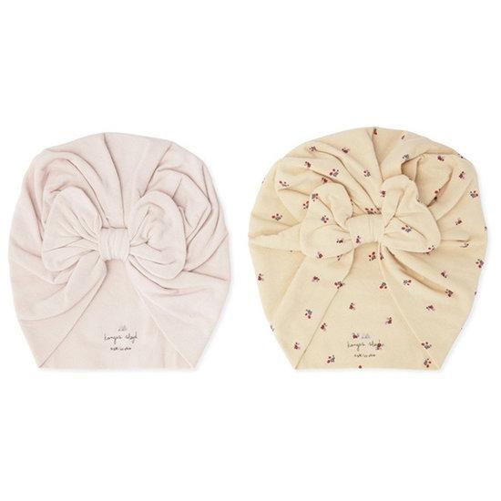 Konges Slojd Konges Slojd Basic Bambi bonnet Bloom/Lavendar Mist