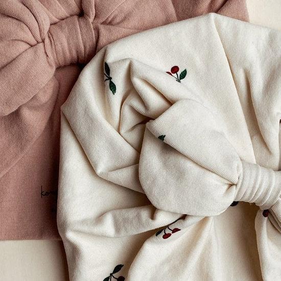 Konges Slojd Konges Slojd Basic Bambi bonnet Cherry/Rugby Tan