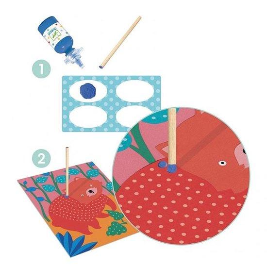 Djeco Djeco vingerverf - Pointillisme +3jr