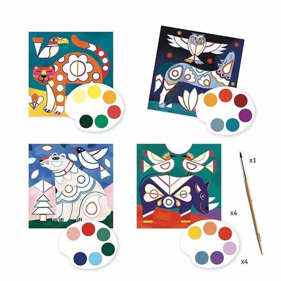 Djeco Djeco schilderen op kleur Dieren +6jr