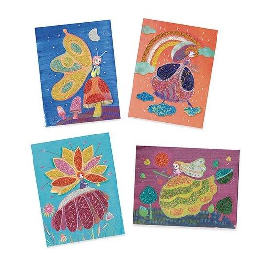 Djeco Djeco kralen schilderijen Wonderland 6-13jr