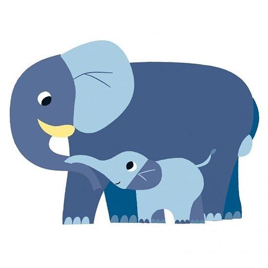 Djeco Djeco stickers moeder en baby 120st