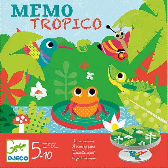 Djeco Djeco memo tropico 5-10jr