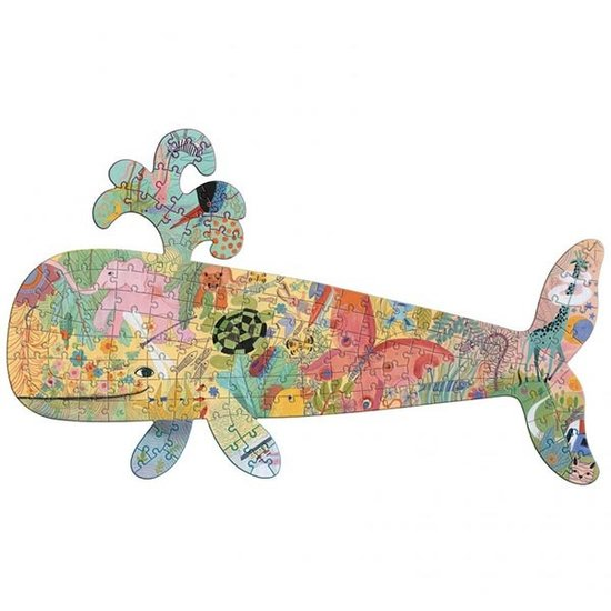 Djeco Djeco puzzel art walvis 150 stukjes