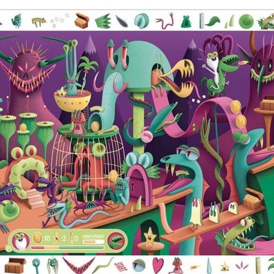 Djeco Djeco observatie puzzel Video Game 200 stukjes