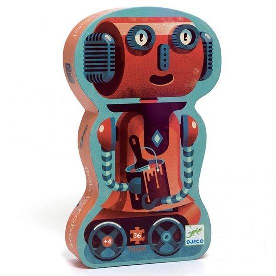 Djeco Djeco puzzel Bob de robot 36 stukjes