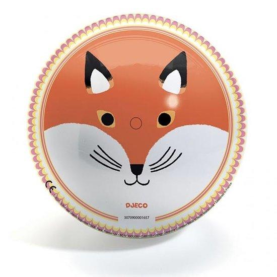 Djeco Djeco speelbal Bear & Fox 22 cm
