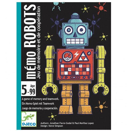 Djeco Djeco memory kaartspel Robots +5jr
