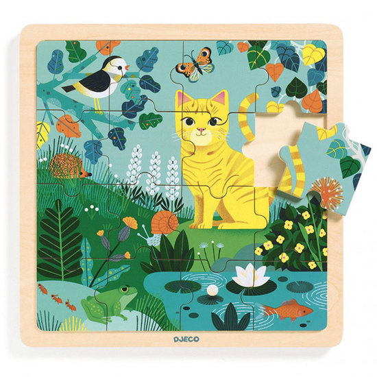 Djeco Djeco puzzel Lily +3jr 16 stks