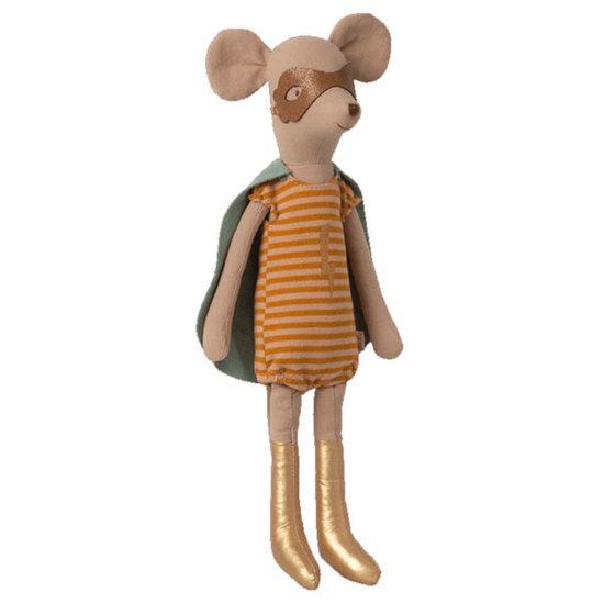 Maileg Maileg superhero mouse Medium girl