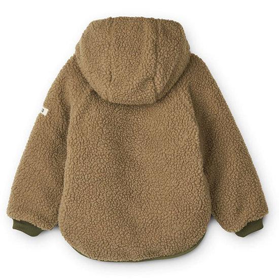 Liewood Liewood Jackson reversible jacket Golden Caramel