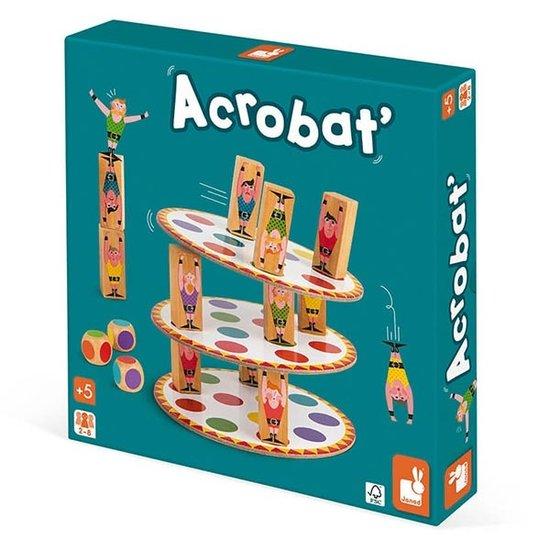 Janod speelgoed Behendigheidsspel - Acrobat - Janod +5jr
