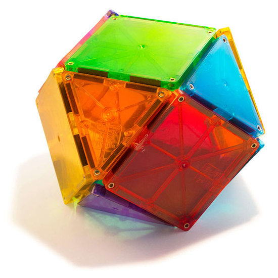 Magna-Tiles Magna-Tiles Clear Colors 32 pieces