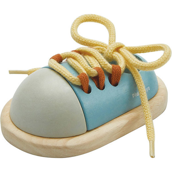 Plan Toys Plan Toys ty up shoe Orchard +3 yrs